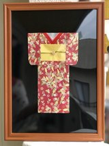 Origami Kimono craft in Okinawa, Japan