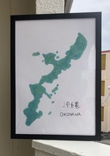 Okinawa Map Paint in Okinawa, Japan