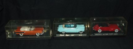 Solido  Vitesse & Miatso 1:43 Scale Die Cast Cars ~ Price varies or all for $50 in Aurora, Illinois