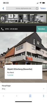 Otterberg. Fantastic office /store rooms for insurance etc. in Ramstein, Germany