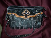 Metal Studed Black with Cross Purse in Alamogordo, New Mexico