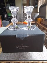 Waterford Crystal candle sticks in Chicago, Illinois
