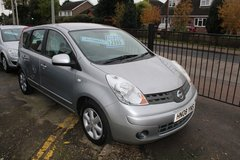 Nissan Note Automatic 6 MONTHS FREE ROAD TAX! in Lakenheath, UK