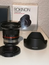 Rokinon 12mm F2.0 NCS CS Ultra Wide Angle Fujifilm X Mount in Ramstein, Germany