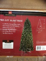 9ft Pre-lit Slim Tree in Alamogordo, New Mexico