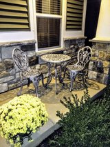 ultra high end cast Iron patio set in Cherry Point, North Carolina