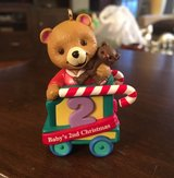 Baby's 2nd Christmas Ornament in Joliet, Illinois