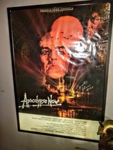 autographed Martin Sheen movie poster in Cherry Point, North Carolina