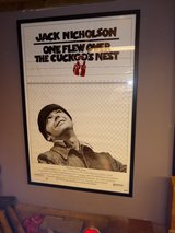 autographed Jack Nicholson movie poster in Cherry Point, North Carolina