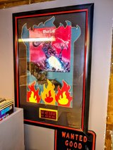 double autographed meatloaf album custom framed in Cherry Point, North Carolina