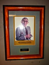 autographed George Burns with his cigar in Cherry Point, North Carolina