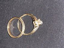Wedding ring set in Beaufort, South Carolina