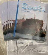 NIP Rigby PM Flying Colors: Leveled Reader Package Level F Boats in Okinawa, Japan