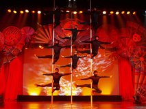 Chinese Acrobats of hebei in Alamogordo, New Mexico