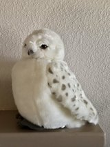 "Wizarding World of Harry Potter Hedwig Owl 11"" Plush Doll Puppet with Sound Like New in Travis AFB, California"