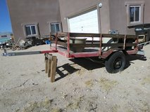 old trailer 6 1/2' x 4 1/2' in Yucca Valley, California