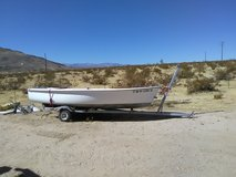 boat trailer for sale, boat is free. in Yucca Valley, California