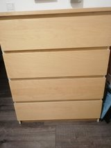Ikea MALM 4-drawer dresser in Stuttgart, GE