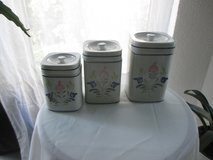 pretty ceramic canister set in Ramstein, Germany