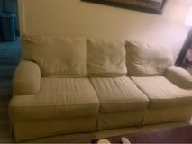 Couch and loveseat. Professionally cleaned, no rips, holes or tears! in Camp Lejeune, North Carolina
