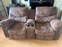 Recliner loveseat couch in Okinawa, Japan