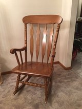Maple Wood Rocking Chair in Orland Park, Illinois