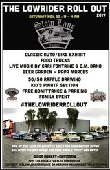 THE LOWRIDER ROLL OUT in Camp Pendleton, California