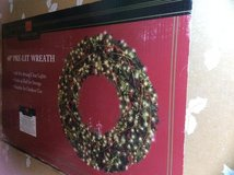 5 ft Prelit Christmas wreath in Alamogordo, New Mexico