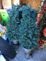 Approximately 4 ft. Prelit Outdoor artificial trees in Alamogordo, New Mexico