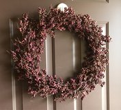 Faux Berry Wreath in Shorewood, Illinois