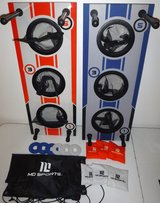 Md Sports Portable 2-in-1 Bean Bag & Washer Toss & Combo Game w/Carry Case in Joliet, Illinois
