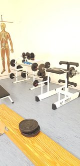3 fitness machines in Spangdahlem, Germany