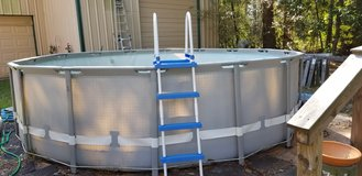 """16'×48"""" Intex Swimming Pool with ladder, pump and hose.  No leaks! in Kingwood, Texas"""
