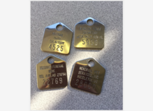 Stainless Steel Cremation Identification Tags for Human and Pet in Birmingham, Alabama