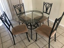 Table and 4 chairs in 29 Palms, California