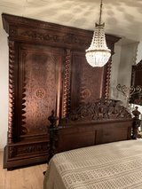 "Bedroom Set - Style Louis XIII "" Hunting Style"" in Spangdahlem, Germany"