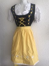 dirndl yellow/Black in Ramstein, Germany