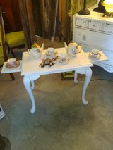 Antique Queen Anne tea table in Camp Lejeune, North Carolina