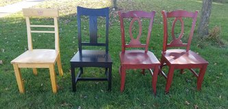 Solid wood chairs in Joliet, Illinois