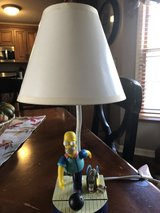 "2002 Homer Simpson Bowling Table Lamp - 15"" Tall in Bolingbrook, Illinois"