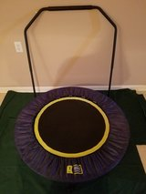 Urban Rebounding Trampoline with Safety Bar in Wilmington, North Carolina