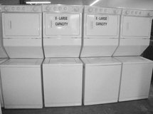 Stackable apartment washer & dryer combination in Camp Pendleton, California