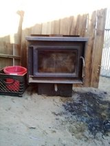 wood burning fire place in 29 Palms, California