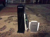 NETgear WiFi Modem Router and Extender in Conroe, Texas