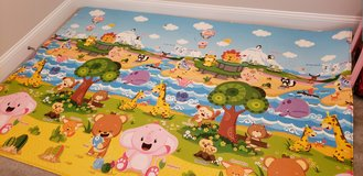Large memory foam playmat reversible!! in Fort Campbell, Kentucky