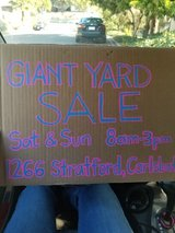 Fundraiser for Life Yard Sale in Camp Pendleton, California