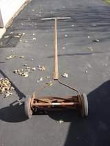 OLD REEL TYPE PUSH LAWN MOWER in Batavia, Illinois