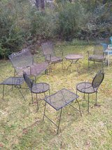 Vintage wrought iron patio sets in Cherry Point, North Carolina