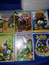 Veggie Tales lot 6 movies. in Beaufort, South Carolina