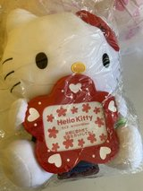 Hello Kitty stuffed toy w/ picture frame in Cherry Point, North Carolina